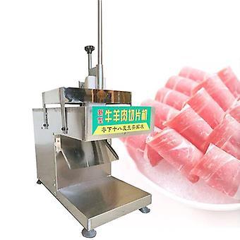 تقطيع اللحم الكهربائي، لحم الضأن المنزلي، الخضروات، الخبز، لحم الخنزير الساخن