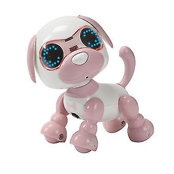 Pembe çocuk akıllı evcil hayvan köpek indüksiyon dokunmatik elektrikli oyuncak az9024