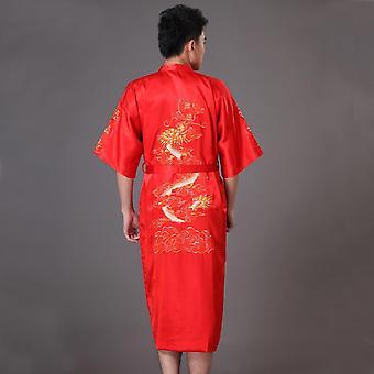 Luxusné župany Kimono, nočné prádlo Loose Nightwear