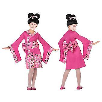 زي للأطفال Geisha فوشيا الوردي (3 أجهزة الكمبيوتر الشخصية)
