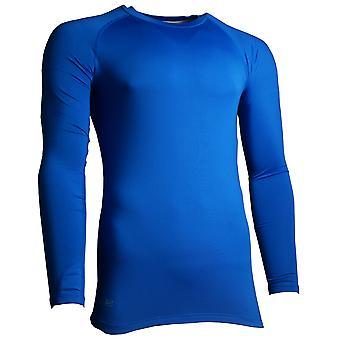 """Präzision Essential Base-Layer Langarm Shirt Royal - L Junior 28-30"""""""