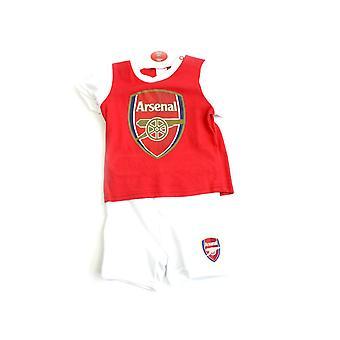 Arsenal Short und Tee Schlaf Set 9-12 Monate