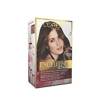 Permanent Dye Excellence L'Oreal Make Up Dark Blonde Nº 6