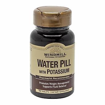 Windmill Health WATER PILL W/POTASSIUM, 90 Tabs
