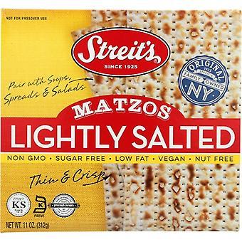 Streits Matzo Lightly Salted, Case of 12 X 11 Oz