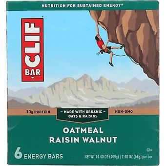 Clif Bar Raisin Walnut 6Pc, Case of 6 X 14.4 Oz