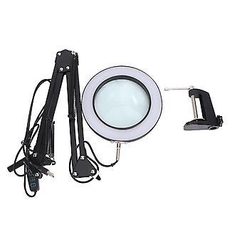 1шт 5x настольный светодиодный лупа настольная лампа сварка освещение долголетие защита окружающей среды энергосбережение электронное обслуживание