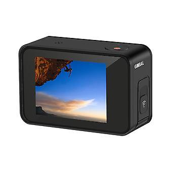 4K vlog عمل الكاميرا ordro شجاع 1 60fps شاشة تعمل باللمس واي فاي 30m تحت الماء للماء gimbal المضادة اهتزاز الكاميرات الرياضية