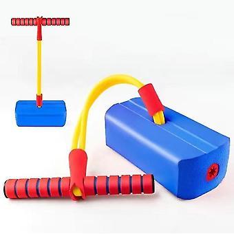 Blauwe kinderen fitness speelgoed, outdoor springen evenwicht zin indoor trainingsapparaat az13495