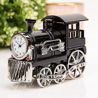 WILLIAM WIDDOP Horloge miniature - Train à vapeur noir