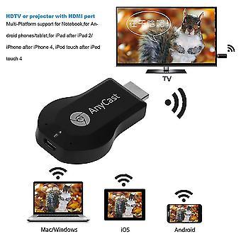 M2 Wifi -näyttö Hdmi 1080p TV Dongle -vastaanotin Anycast sopii kannettavaan televisioon