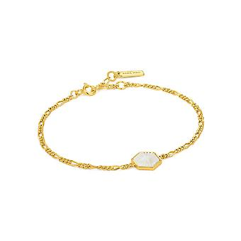 אניה Haie מצפן סמל זהב פיגארו שרשרת צמיד B030-02G