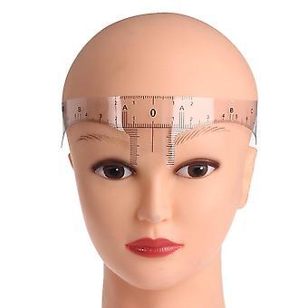 Reusable Semi-permanent Ruler Eye Brow Measure Tool