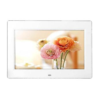 Hd Lcd digitale foto frame alarm video mp3 mp4 filmspeler + externe wekkers
