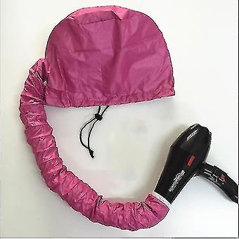 Portable Hair Dryer Hair Dryer Cap Super Hair Dryer Oil Cap,Does Not Hurt Hair(Pink)