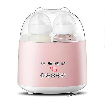 Garrafa portátil bebê aquecedor garrafa de leite duplo esterilizador alimentando aquecedor de água constante ovo cozido