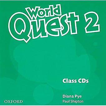 World Quest: 2. Klass ljud-CD-skivor (3 skivor)