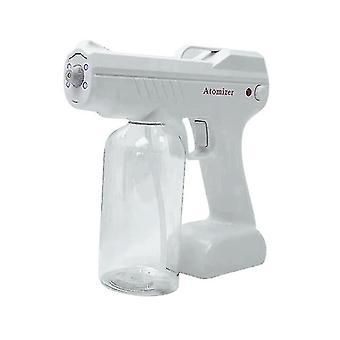 800ML Blue Light Nano Steam Spray Gun Sanitizer Sprayer Disinfects For Home Office(Plastic Sprinkler