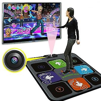 Home game console accessories dance mat tv usb computer game with camera thickening single user