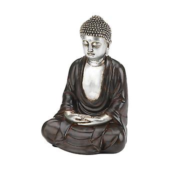 Accent Plus Peaceful Sitting Buddha - 9.5 inches, Pack of 1