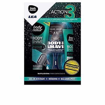 Body Natur Body Shave Set 3 Pz Voor Heren