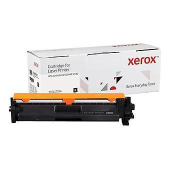 Everyday Svart Toner, HP CF217A motsvarande produkt från Xerox, 1600 sidor - (0