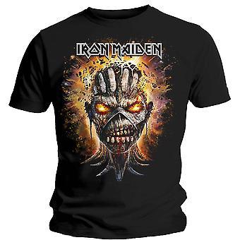 Iron Maiden - Eddie Eksploderende Hode Unisex Medium T-skjorte - Svart