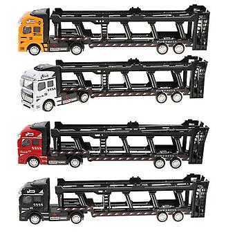 Koolyou Toy Car Construction Truck 4 Pieces Loaded Truck Trailer Die-casting Toy Boy Girl Interactive Toy Pull Back Car Alloy Children