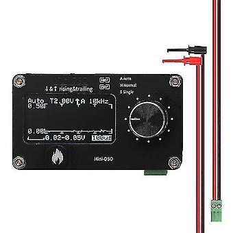 Metal detectors 1.3 Inch oled display touching button 250khz sampling rate simple oscilloscope metal knob adjustment