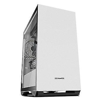 Stationære computere atx mini-tårn kasse kasse hummer nul usb 3,0 Hvid