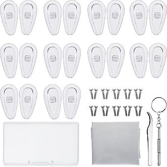نظارات إصلاح مجموعة 10 أزواج الهواء غرفة الأنف منصات
