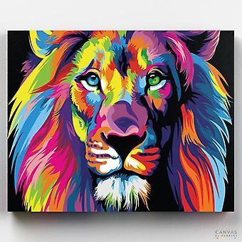 דיוקן אריה מופשט (מהדורה מוגבלת)