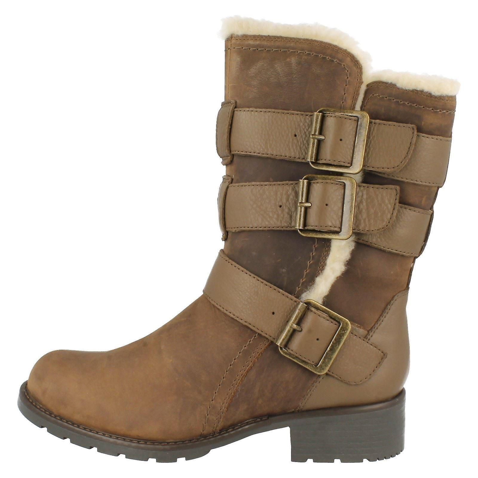 Ladies Clarks Casual Utility Style Boots Orinoco Bloom