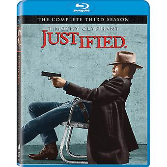 Justified - Justified: The Complete Third Season [3 Discs] [BLU-RAY] USA import