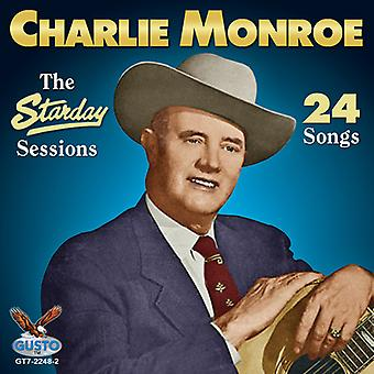 Charlie Monroe - Starday Sessions [CD] USA import
