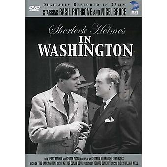Sherlock Holmes: I Washington [DVD] USA import