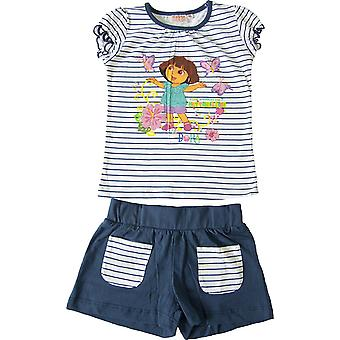 Meisjes Dora de Explorer zomer T-shirt & Shorts Set