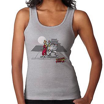 Cryogenic Fighter II Futurama Street Fighter Women's Vest