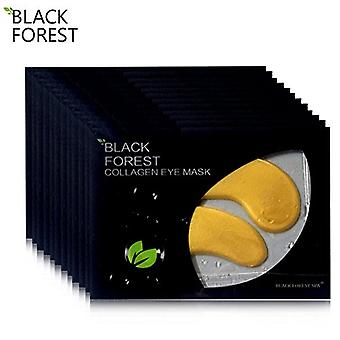 Black Forest Spa 10 Pairs Collagen Crystal Eye Pads Eye Pads Anti Aging Mask Wrinkle Care