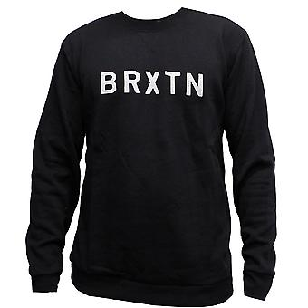 Brixton Murray Sweatshirt Washed Black