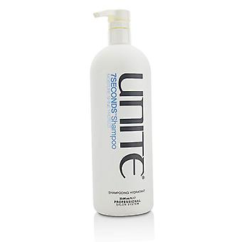 Unite 7seconds Shampoo (moisture Shine Protect) - 1000ml/33.8oz