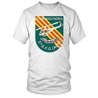 Kommando og kontroll 5 egen Abn Vietnamkrigen - ren kraft damer T skjorte