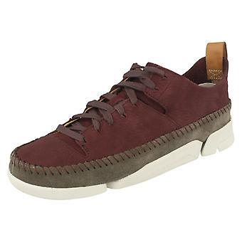 Dames Clarks Lace Up Casual schoenen Trigenic Flex