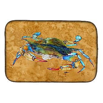 Carolines Treasures  8655DDM Crab Dish Drying Mat