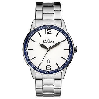 s.Oliver mannen horloge horloge RVS SO-3283-MQ