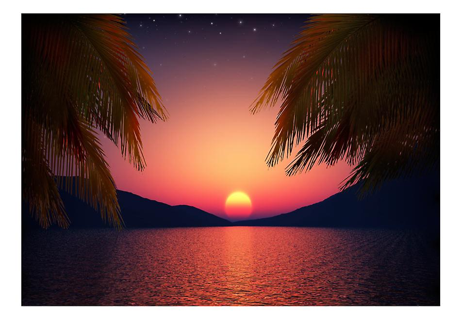 Fototapet - Romantic evening on the beach