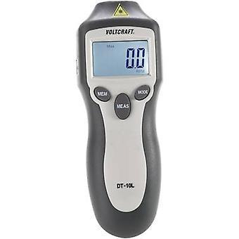 VOLTCRAFT DT-10L Tachometer 2 - 99999 Rpm