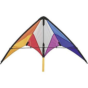HQ Stunt kite Calypso II Rainbow Wingspan 1100 mm Wind speed range 2 - 5 bft