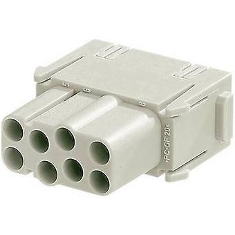 Harting 09 14 008 3101-1 Soquete inset Han® C-Modul 8 + PE Crimp 1 pc(s)