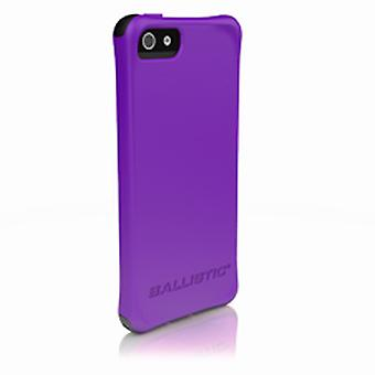 Balistice Smooth Caz pentru Apple iPhone 5 - Purple